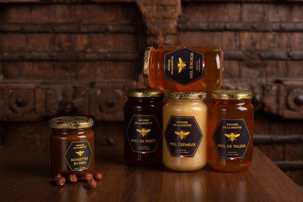 Miel d'acacia - Rucher de la miotte