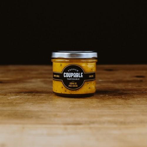 Coupable Tartinable - crème de pois chiche / carotte rôtie / curcuma