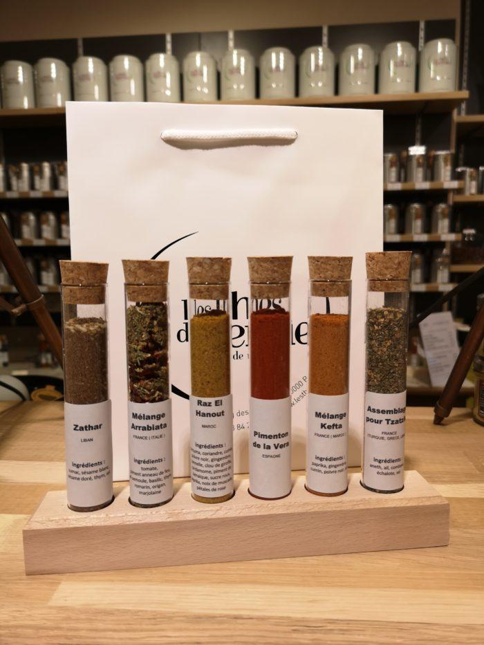 les épices en fête - un tour de Méditerranée