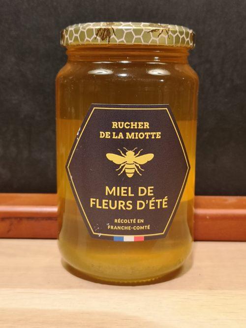 Miel de fleurs d'été - Rucher de la miotte