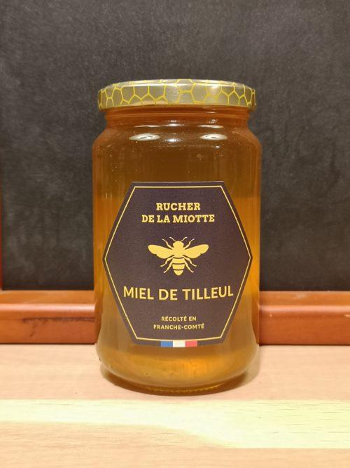 Miel de tilleul - Rucher de la miotte