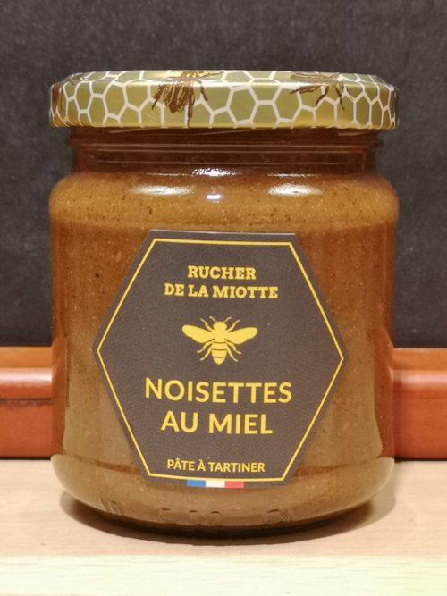 Noisettes au miel - Rucher de la miotte