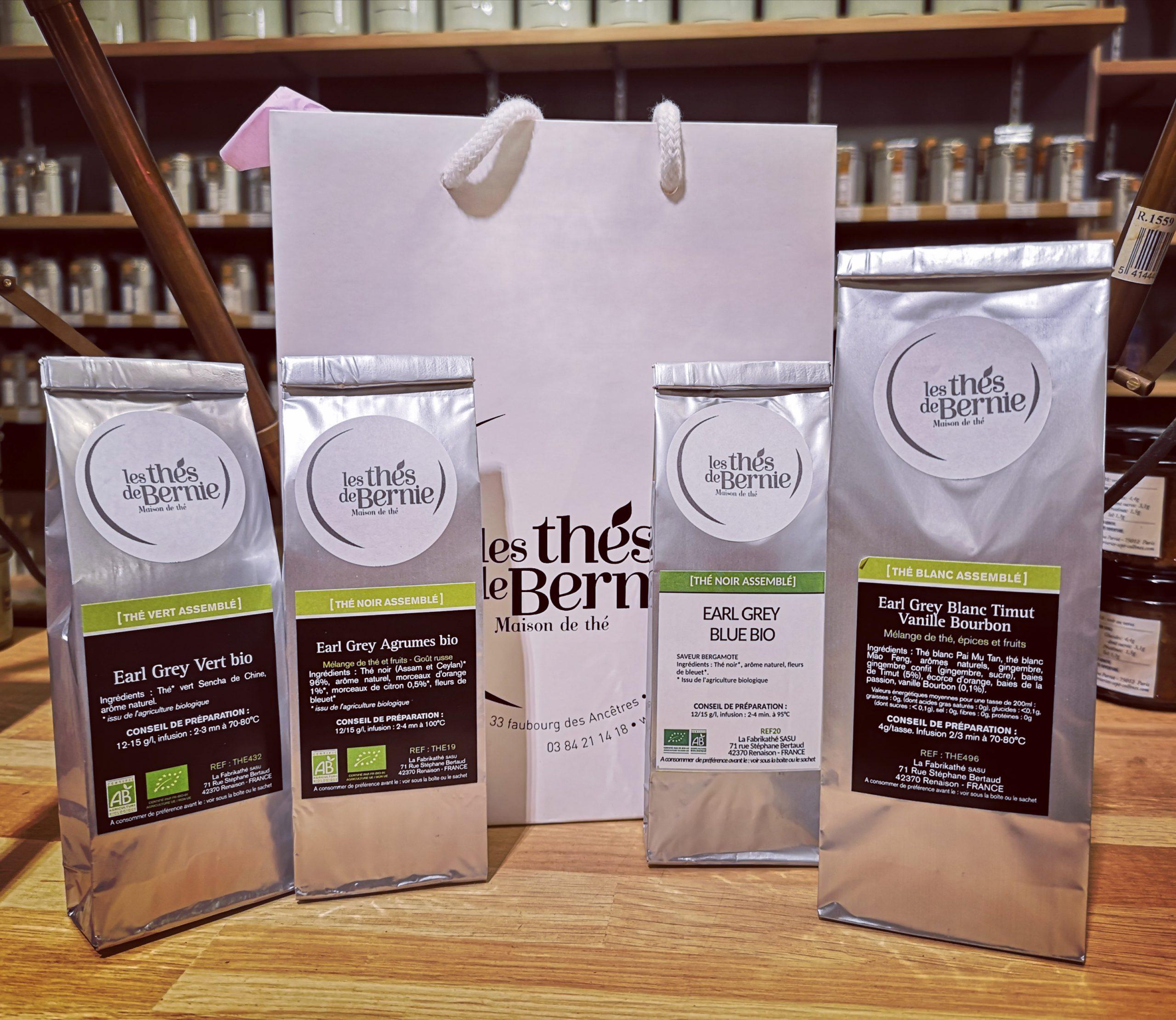 Les Tea Packs : 3 nuances de Grey