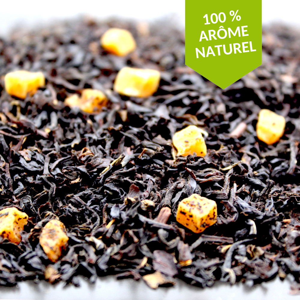 thé caramel anglais