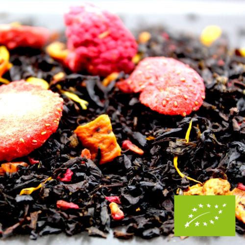 thé fraise framboise