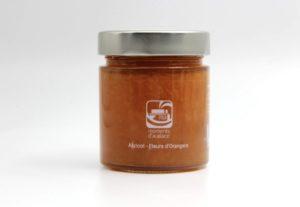 confiture moments d'audace - abricot fleur d'oranger